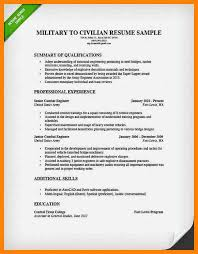 Military Resume Examples For Civilian 6 Military To Civilian Resume Template New Hope Stream Wood