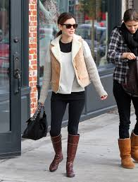 street riding boots rachel bilson is 5ft 1 and shows shorter women can get away with