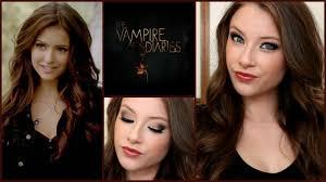 the vampire diaries katherine pierce makeup u0026 hair tutorial