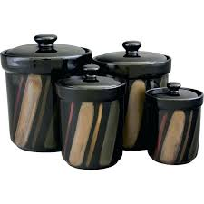 black and white kitchen canisters black kitchen canisters kitchen canisters black canister set with