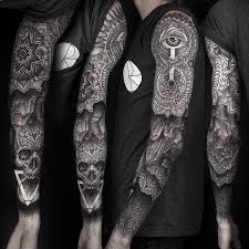 ouroborus triangle sleeve various healing stages via www