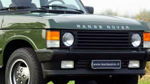 toyota land rover 1990 1988 range rover v8 classic hd photo video with fantastic sound
