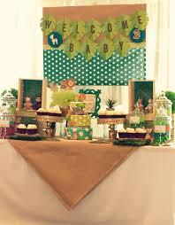 Table Buffet Decorations by Best 25 Safari Candy Table Ideas On Pinterest Safari Birthday
