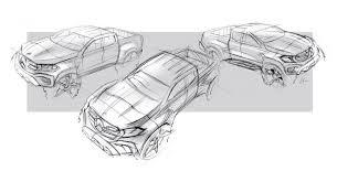 mercedes benz x class u2013 design sketches daimler global media site