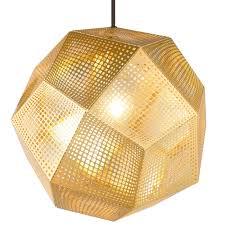 Esszimmer Lampe Messing Tom Dixon Etch Pendelleuchte Messing Flinders Versendet Gratis