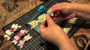 create a bow with one strip of design paper with the wrmk envelope