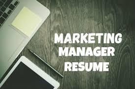 Resume Sample Resume Marketing Manager by Marketing Manager Resume Sample