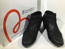 womens ankle boots size 12 wide blondo s ankle wide c d w boots ebay