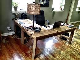 Wooden Computer Desk Plans Desk Stupendous Solid Wood L Shaped Desk 30 Enchanting Oak L