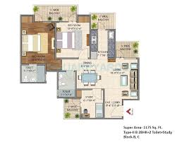 home design 2bhk 2 bhk 1175 sq ft apartment for sale in bsb vaibhav heritage