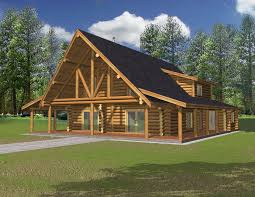 Luxury Log Home Plans 2690 Sq Ft North West Style Log Home Log Cabin Home Log Design