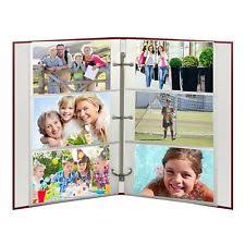 pioneer photo album refills pioneer rst 6 photo album refills 4x6 3 ring 50 pages 300 pics ebay