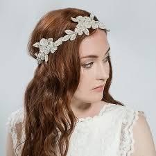 bridal accessories london buy flower halo bridal hair accessory emmy london