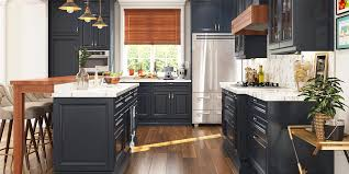 pictures of navy blue kitchen cabinets traditional style navy blue kitchen cabinet with island op18
