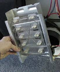 replacing dryer heating element appliance aid