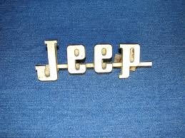 amc jeep logo used jeep emblems for sale page 21
