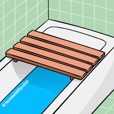 Bathtub Bench Seat Bath Bench For Clawfoot Tub The Best Options Homeability Com