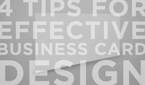 Tips For Designing A Business Card 4 Tips For Effective Business Card Design Paper Leaf