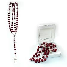 rosaries blessed by pope francis color scented rosary blessed by pope francis with box ebay