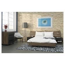 5 piece alibi queen size bedroom set nexera target