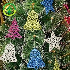 tree ornaments 50 pcs ornaments set
