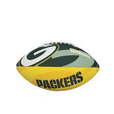 nfl team logo junior size football green bay packers wilson