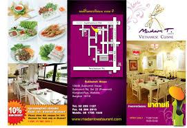 contoh desain brosur hotel contoh design brosur ali design