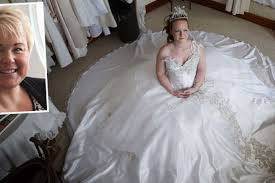 wedding dress newcastle newcastle dressmaker hoping to appear on big weddings