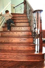 solid wood staircase solid wood stair steps how to do flooring by