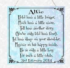 baby boy poems personalised poem new baby birthday girl boy christening mummy