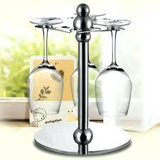 wine rack glass top iron wine rack 1 tier top rotatable