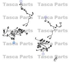 dodge charger oem parts oem rh front seat cushion wiring harness chrysler 300 dodge
