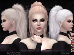 sims 4 hair cc stealthic s sims 4 female hairstyles
