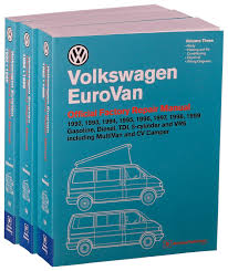 volkswagen eurovan official factory repair manual 1992 1993