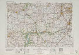 Aurora Map Aurora Topographic Maps Il Usgs Topo Quad 41088a1 At 1 250 000
