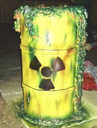 halloween props nuclear waste barrel by capdon on deviantart