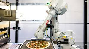 pizza made by robots baked on the way to your house eater sf pizza made by robots baked on the way to your house
