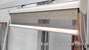 How To Clean Fabric Roller Blinds Vision Duo Roller Blind Quick Demo Youtube