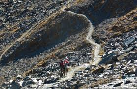 Rock Slides Will Remain Common Because Of The Significant Snowpack Chamonix Bike Blog