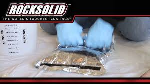 Rock Solid Garage Floor Reviews by Rocksolid Garage Floor Coating Youtube
