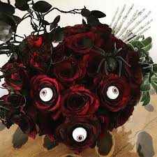 just gifted to me one of the best halloween floral arrangements