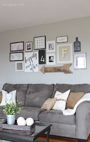 wall decorating ideas for living room amazing wall decor ideas for living room with brown sofa and square