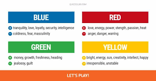 color personality test this color preference quiz will personality test quiz club