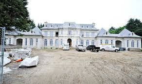 French Chateau Homes by 40 000 Square Foot Newly Built Mega Mansion In Mississauga