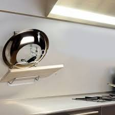 new aluminum kitchen cabinet door pot pan lid holder space saver