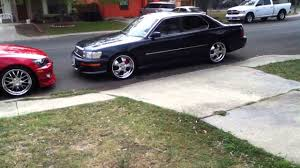 lexus is300 tires size lexus is300 u0026 lexus ls400 rim and kitted out youtube