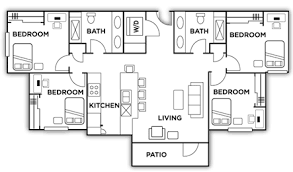 four bedroom floor plans highlands floor plans near unr four bedroom plans