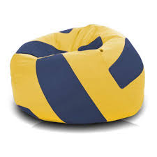 Large Bean Bag Chairs Turbo Beanbags Volleyball Style Large Bean Bag Chair Walmart Com