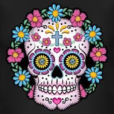 Dia De Los Muertos Pictures Dia De Los Muertos Sugar Skull T Shirt Spreadshirt