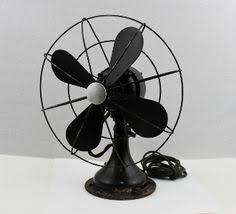 Oscillating Desk Fan by Vintage 1950s Zero Desk Top Fan Drug Store Fan Drug Store
